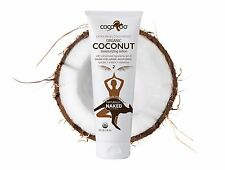 CocoRoo Naturally Naked Organic RAW Coconut Oil for Skin and Hair - 8 oz tube