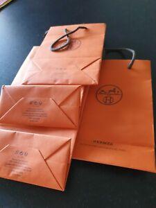 4 Sachets Hermès 15 × 22 × 7 cm Neufs