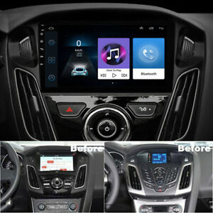 9'' Android 9.1 Car Stereo Radio GPS Navi Wifi 2GB+32GB For Ford Focus 2012-2017