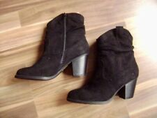 @ laura torelli @ Ankle Boot Black Uk 5 Us 7,5 Gr. 38 New Suede Look