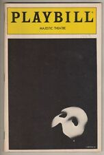 "Michael Crawford & Sarah Brightman ""Phantom of the Opera"" Playbill 1988  OBC"