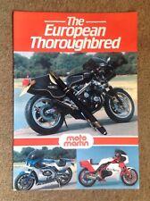 MOTO MARTIN 🇫🇷 Sales brochure GSX1100 / CBX1000 /Z1 900 mocheck 70's - 80's