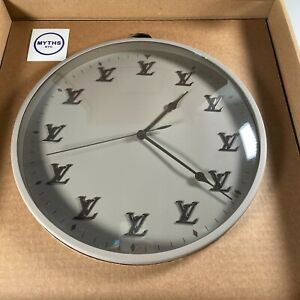 Louis Vuitton Virgil Abloh LV Logo Monogram Clock - Off White - Limited Edition
