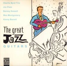Various Jazz(CD Album)The Great Jazz Guitars-Original Jazz Classics-OJC-