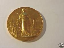 Médaille de table Exposition internationale Aix les Bains 1909 Or Massonet