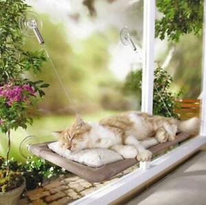 Heglow Cat Bed, Cat Window Perch Window Seat Suction Cups Space Saving Cat
