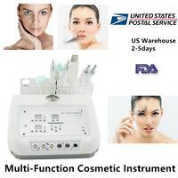 4In1 Microcurrent Micro Dermabrasion Ultrasound Skin Scrubber Skin Salon Machine