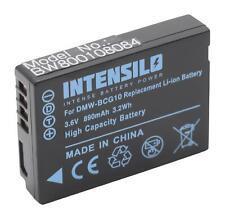 Akku für Panasonic Lumix DMC-TZ20, DMC-TZ22, DMC-TZ25 890mAh 3.6V Li-Ion