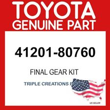 TOYOTA GENUINE 4120180760 FINAL GEAR KIT, DIFFERENTIAL, REAR 41201-80760