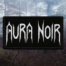 Aura Noir | Embroidered Patch | Norway | Norwegian Thrash / Black Metal Band