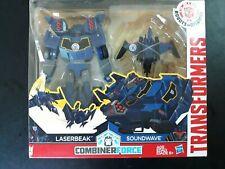 Transformers Combiner Force Robots in Disguise Laserbeak & Soundwave Hasbro