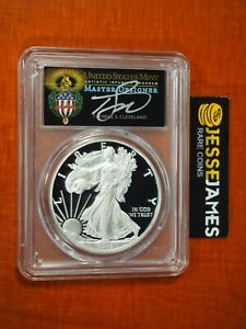 2016 W PROOF SILVER EAGLE PCGS PR70 TORCH CLEVELAND FROM 2019 WP MINT HOARD!