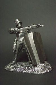 1/32 Tin soldier Crossbowman 14-15 century figure metal soldiers 54mm