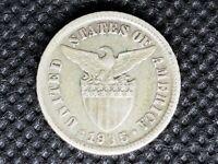 Philippines Ten 10 Centavos Coin 1935-M