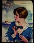 A.+D.+Neville+Illustrated+Cover+Only+Motor+Boating+November+1928+Pretty+Girl