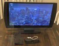 "Sony Playstation 3D TV Monitor CECH-ZED1U Display LCD Flat Panel 24"" 1080p"