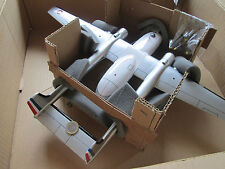 Noratlas NORA  Woodmodell 1:60  Fertigmodell Avion / Aircraft / YAKAiR