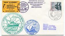 1983 Georg Neumayer Station Antarktis III Deutsche Expedition Norway Polar Cover