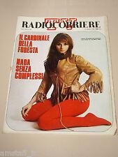 TV RADIOCORRIERE=1969/22=PAOLA PITAGORA=NADA=MARIO ZANASI=UGO TOGNAZZI=