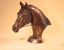 Eventers Head  - Bronze - Harriet Glen - Superb  Gift