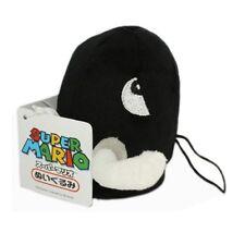 Super Mario Bros. Bullet Bill Bomb Black 5 inch Stuffed Plush Doll Toy