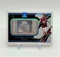 2021 Panini Impeccable DWIGHT MCNEIL #1/4 Silver Troy Ounce EPL Logo Burnley