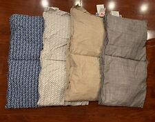 Sleep Number Down Primaloft Down Alternative Comforter Samples 14�x 54� Lot Of 4