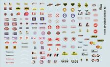 GOFER Racing Decals 11011 Sponsor # 2 Decal Sheet for 1/24 & 1/25 Scale