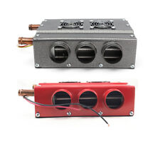 12V 6 Ports CAR AND TRUCK HEATER 12V UNDER DASH with SPEED SWITCH Universal