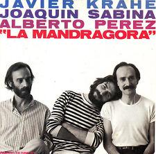 CD JAVIER KRAHE JOAQUIN SABINA ALBERTO PEREZ la mandragora SPAIN CBS 1981 MINT