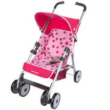 NEW Maclaren Baby Toddler Toy Pram - Play Pushchair/Stroller - Pink