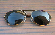 RETRO VINTAGE REY BAN ITALY DESIGN SUNGLASSES GLASSES WITH MARBLED TORTOISE RARE