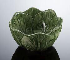 BASSANO runde Salat Beistellschale Ausgefallene italienische Keramik 15x8 Relief