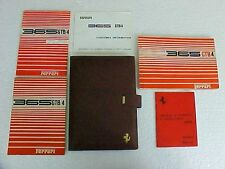 Ferrari 365 Owners Manual_Pouch_Parts Manual_Dealer Directory GTB/4 Daytona OEM