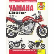 Yamaha FZS1000 Fazer Motorcycle Repair Manual (Haynes S - Paperback NEW Editors