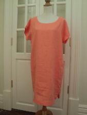 2 goondiwindi australia soft apricot tunic dress NWOT10 u( 12 / 14 au ) linen