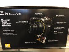 Nikon Z 50 20.9 MP Mirrorless Digital Camera - Black (Creator's Kit)