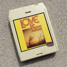 RARE - K-Tel Love Is 1982 8-Track - New Pads - Alan Parsons Project, America