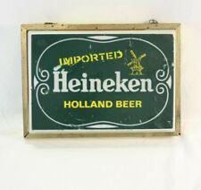 Vintage Heineken Beer Sign by Phase Four Productions New York, N.Y.