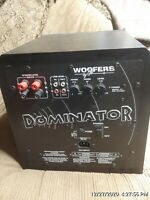 "Sunfire Dominator By Bob Carver 10"" POWERED Subwoofer"
