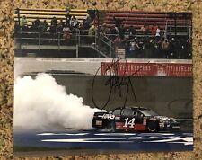 Clint Bowyer Signed 8x10 Photo NASCAR COA Monster