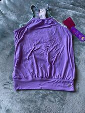 JILL Go Girls Active Stretch Top Age L/G 12 Yrs NEW