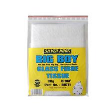 Silverhook Ultra Fine Fibre Glass Repair Tissue Mat Sheet 30g Use with Resin