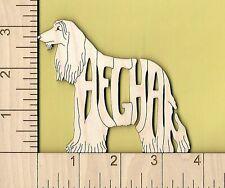 Afghan Hound Dog laser cut wood Magnet Great Gift Idea
