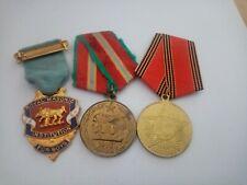 3 Medals joblot number 4