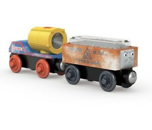 Thomas & Friends Wooden Railway Dustin Comes In First Search Light Rescue Snow