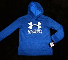 Under Armour graphite blue hoodie sweatshirt Boys Youth 6 $40 LAST 1!