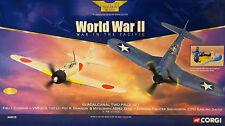 CORGI aa99120 Guadalcanal Island, 1943, Dogfight 2-Piece Set – Corsair V ZERO