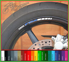 8 x YAMAHA TDM Wheel Rim Stickers Decals - Many Colours TDM900 TDM850 900 850 B