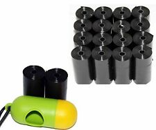 DOG PET WASTE POOP BAGS REFILL ROLLS WITH CORE by Petoutside USA